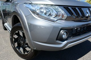 2018 Mitsubishi Triton MQ MY18 Exceed Double Cab Titanium 5 Speed Sports Automatic Utility.