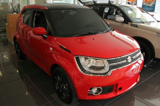 New Suzuki Ignis MF GLX, 2020 Suzuki Ignis MF GLX Red 1 Speed Constant Variable Hatchback