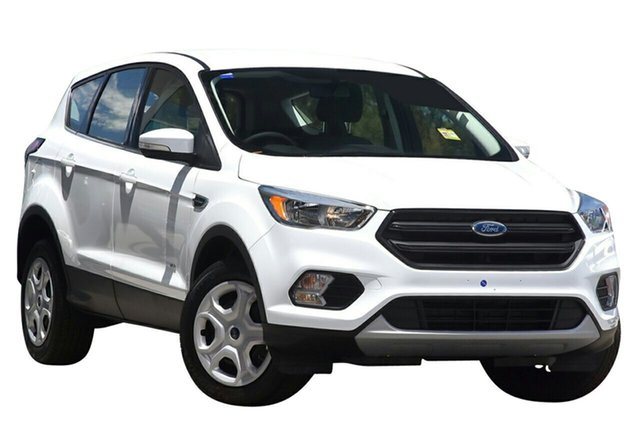 New Ford Escape ZG Ambiente 2WD, 2017 Ford Escape ZG Ambiente 2WD Frozen White 6 Speed Sports Automatic Wagon