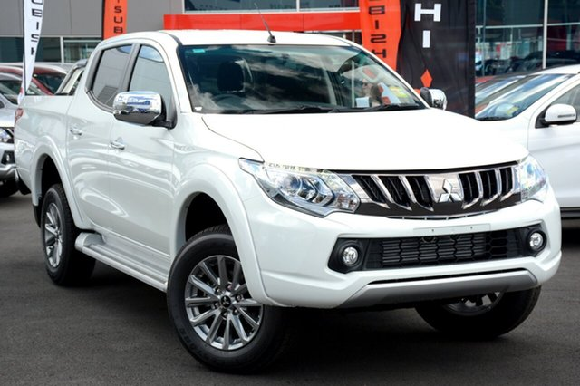 New Mitsubishi Triton MQ MY18 GLS Double Cab, 2018 Mitsubishi Triton MQ MY18 GLS Double Cab White 5 Speed Sports Automatic Utility