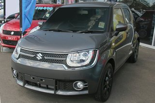 2018 Suzuki Ignis MF GLX Mineral Grey 1 Speed Constant Variable Hatchback.