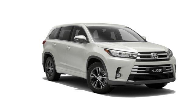 New Toyota Kluger GSU50R GX 2WD, 2019 Toyota Kluger GSU50R GX 2WD Crystal Pearl 8 Speed Sports Automatic Wagon