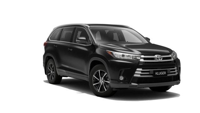 New Toyota Kluger GSU55R GXL AWD, 2019 Toyota Kluger GSU55R GXL AWD Eclipse Black 8 Speed Sports Automatic Wagon