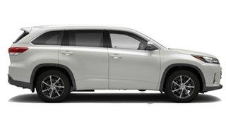 2018 Toyota Kluger GSU55R GXL AWD Crystal Pearl 8 Speed Automatic Wagon.