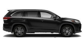 2018 Toyota Kluger GSU55R GX (4x4) Eclipse Black 8 Speed Automatic Wagon.