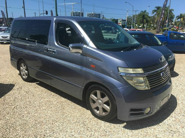 Used Nissan Elgrand E51 Highway Star, 2002 Nissan Elgrand E51 Highway Star Blue 5 Speed Automatic Wagon