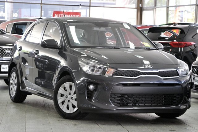 New Kia Rio YB MY20 S, 2019 Kia Rio YB MY20 S Graphite 4 Speed Sports Automatic Hatchback