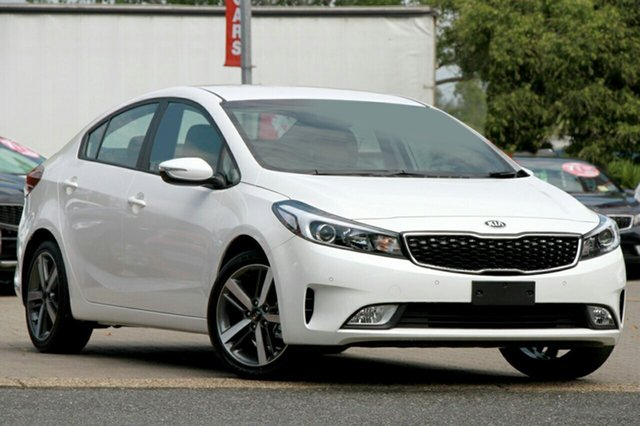 New Kia Cerato YD MY17 Sport, 2017 Kia Cerato YD MY17 Sport Clear White 6 Speed Sports Automatic Sedan