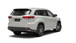 2019 Toyota Kluger GSU55R Grande AWD Crystal Pearl 8 Speed Sports Automatic Wagon.