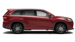 2019 Toyota Kluger GSU50R Grande 2WD Deep Red 8 Speed Sports Automatic Wagon.