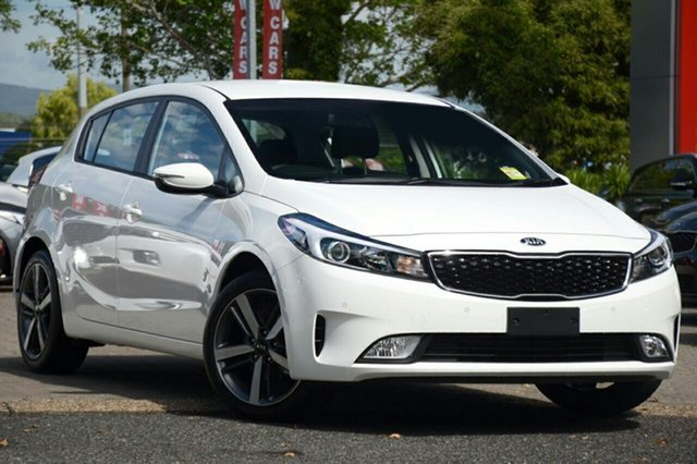 New Kia Cerato YD MY18 Sport, 2018 Kia Cerato YD MY18 Sport Clear White 6 Speed Sports Automatic Hatchback