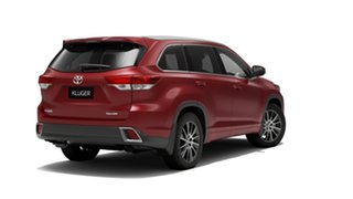 2019 Toyota Kluger GSU50R Grande 2WD Deep Red 8 Speed Sports Automatic Wagon