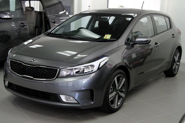 New Kia Cerato YD MY18 Sport, 2018 Kia Cerato YD MY18 Sport Metal Stream 6 Speed Sports Automatic Hatchback
