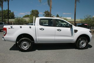 2017 Ford Ranger PX MkII XL Double Cab 4x2 Hi-Rider Frozen White 6 Speed Sports Automatic Utility