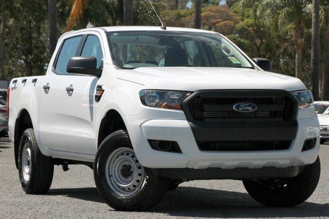 New Ford Ranger PX MkII MY18 XL Double Cab 4x2 Hi-Rider, 2018 Ford Ranger PX MkII MY18 XL Double Cab 4x2 Hi-Rider Frozen White 6 Speed Sports Automatic
