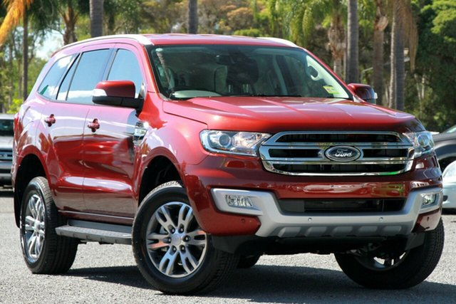 New Ford Everest UA Trend 4WD, 2017 Ford Everest UA Trend 4WD Sunset 6 Speed Sports Automatic Wagon
