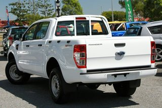 2017 Ford Ranger PX MkII XL Double Cab 4x2 Hi-Rider Frozen White 6 Speed Sports Automatic Utility.