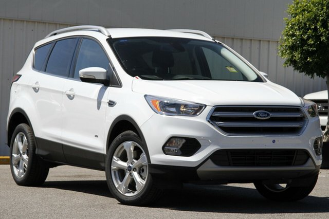 New Ford Escape ZG Trend AWD, 2017 Ford Escape ZG Trend AWD Frozen White 6 Speed Sports Automatic Wagon