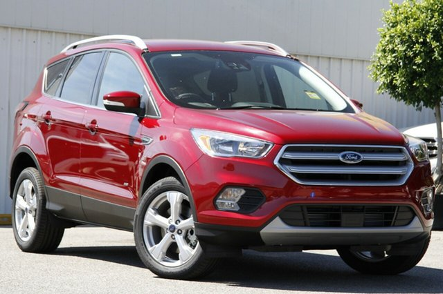 New Ford Escape ZG Trend 2WD, 2017 Ford Escape ZG Trend 2WD Ruby Red 6 Speed Sports Automatic Wagon