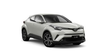 2018 Toyota C-HR NGX50R Koba S-CVT AWD Crystal Pearl 7 Speed Constant Variable Wagon.