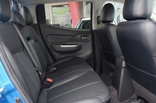 2018 Mitsubishi Triton MQ MY18 Exceed Double Cab Impulse Blue 5 Speed Sports Automatic Utility