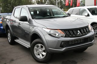 2018 Mitsubishi Triton MQ MY18 GLX+ Double Cab Titanium 5 Speed Sports Automatic Utility.