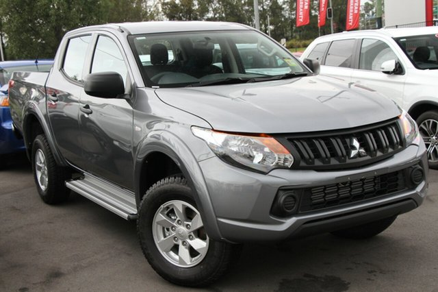 New Mitsubishi Triton MQ MY18 GLX+ Double Cab, 2018 Mitsubishi Triton MQ MY18 GLX+ Double Cab Titanium 5 Speed Sports Automatic Utility