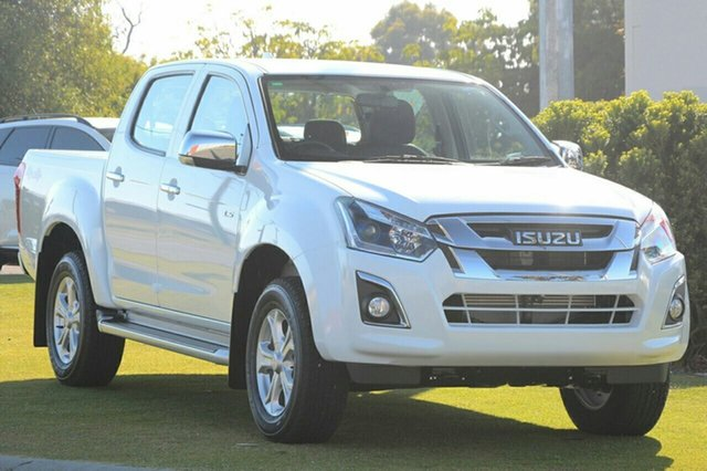 New Isuzu D-MAX MY19 LS-U Crew Cab, 2019 Isuzu D-MAX MY19 LS-U Crew Cab Splash White 6 Speed Sports Automatic Utility