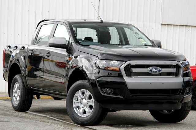 New Ford Ranger PX MkII XLS Double Cab, 2017 Ford Ranger PX MkII XLS Double Cab Shadow Black 6 Speed Sports Automatic Utility