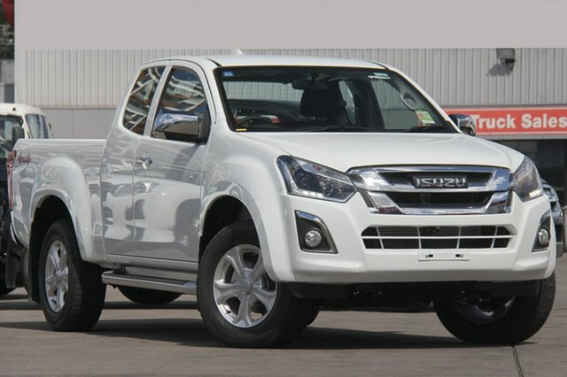 New Isuzu D-MAX MY18 LS-U Space Cab, 2018 Isuzu D-MAX MY18 LS-U Space Cab Splash White 6 Speed Sports Automatic Utility