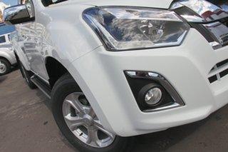 2018 Isuzu D-MAX MY18 LS-U Space Cab Splash White 6 Speed Sports Automatic Utility.