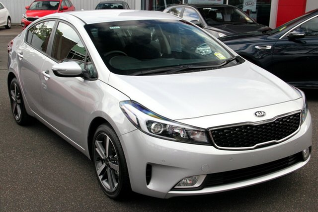 New Kia Cerato YD MY17 Sport, 2017 Kia Cerato YD MY17 Sport Silky Silver 6 Speed Sports Automatic Sedan