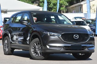 2020 Mazda CX-5 KF4WLA Maxx SKYACTIV-Drive i-ACTIV AWD Sport Machine Grey 6 Speed Sports Automatic.