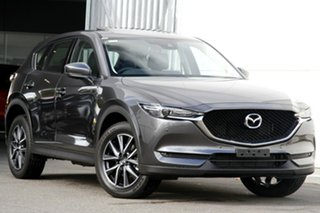 2020 Mazda CX-5 KF4WLA GT SKYACTIV-Drive i-ACTIV AWD Machine Grey 6 Speed Sports Automatic Wagon.