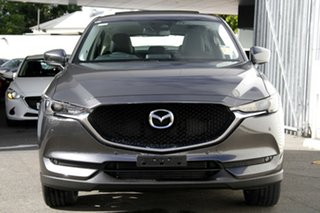 2020 Mazda CX-5 KF4WLA GT SKYACTIV-Drive i-ACTIV AWD Machine Grey 6 Speed Sports Automatic Wagon