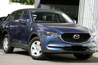 2020 Mazda CX-5 KF2W7A Maxx SKYACTIV-Drive FWD Eternal Blue 6 Speed Sports Automatic Wagon.