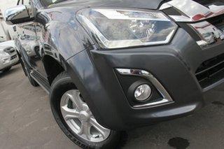 2020 Isuzu D-MAX MY19 LS-U Crew Cab 4x2 High Ride Obsidian Grey 6 Speed Sports Automatic Utility.