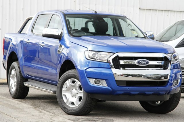 New Ford Ranger PX MkII MY18 XLT Double Cab, 2018 Ford Ranger PX MkII MY18 XLT Double Cab Winning Blue 6 Speed Manual Utility
