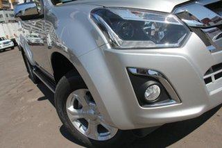 2019 Isuzu D-MAX MY19 LS-U Crew Cab Titanium Silver 6 Speed Sports Automatic Utility.