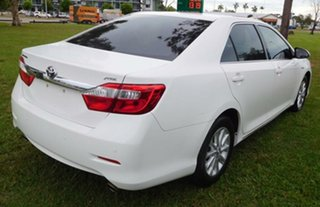 2013 Toyota Aurion GSV50R AT-X White 6 Speed Sports Automatic Sedan.