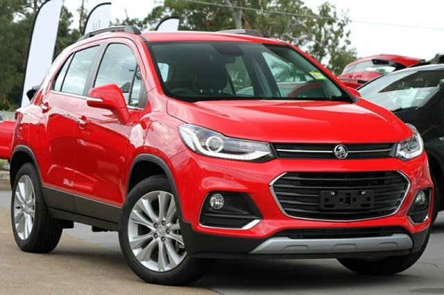 New Holden Trax TJ MY18 LTZ, 2018 Holden Trax TJ MY18 LTZ Absolute Red 6 Speed Automatic Wagon