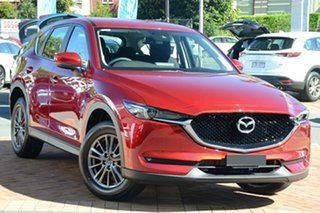 2020 Mazda CX-5 KF4WLA Maxx SKYACTIV-Drive i-ACTIV AWD Sport Soul Red 6 Speed Sports Automatic Wagon.