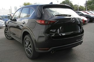 2021 Mazda CX-5 KF4WLA GT SKYACTIV-Drive i-ACTIV AWD Jet Black 6 Speed Sports Automatic Wagon.