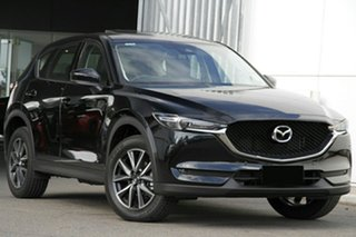2020 Mazda CX-5 KF4W2A GT SKYACTIV-Drive i-ACTIV AWD Jet Black 6 Speed Sports Automatic Wagon.