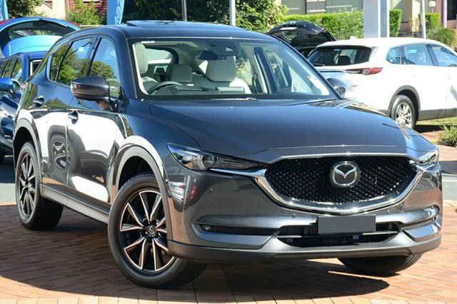 New Mazda CX-5 KF4W2A Akera SKYACTIV-Drive i-ACTIV AWD, 2020 Mazda CX-5 KF4W2A Akera SKYACTIV-Drive i-ACTIV AWD Machine Grey 6 Speed Sports Automatic Wagon