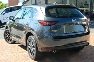 2020 Mazda CX-5 KF4W2A Akera SKYACTIV-Drive i-ACTIV AWD Machine Grey 6 Speed Sports Automatic Wagon