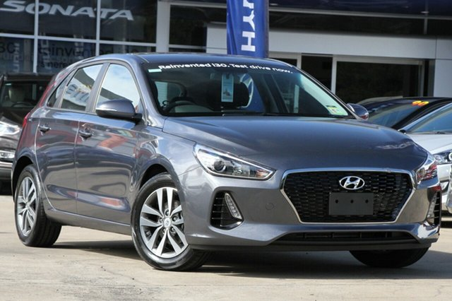 New Hyundai i30 PD2 MY18 Active, 2018 Hyundai i30 PD2 MY18 Active Iron Gray 6 Speed Sports Automatic Hatchback