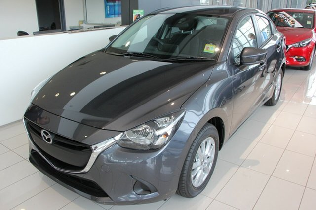 New Mazda 2 DL2SAA Maxx SKYACTIV-Drive, 2019 Mazda 2 DL2SAA Maxx SKYACTIV-Drive Machine Grey 6 Speed Sports Automatic Sedan