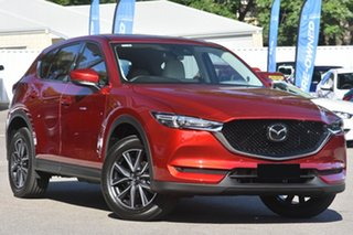 2021 Mazda CX-5 KF4WLA Akera SKYACTIV-Drive i-ACTIV AWD Soul Red Crystal 6 Speed Sports Automatic.