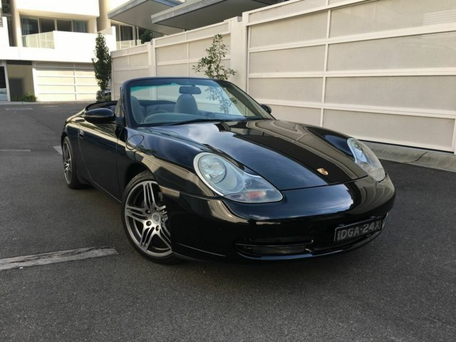Used Porsche 911 996 Carrera Cabriolet, 2000 Porsche 911 996 Carrera Cabriolet Black 5 Speed Sports Automatic Convertible